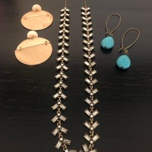 VGUC - Necklace and earrings bundle from Loft